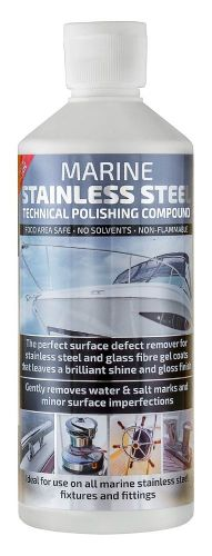 Marine Stainless Steel Cleaner 1Ltr Boat Speedboat Splashback Sink